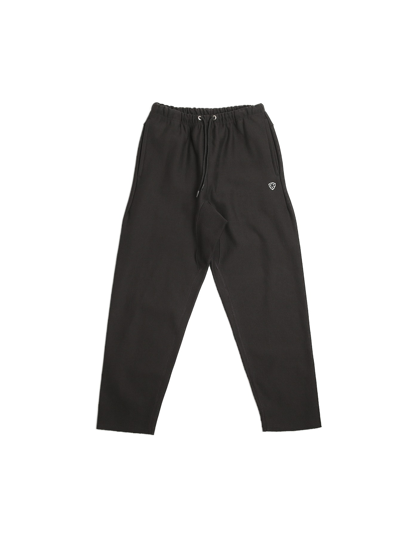 221 REVERSE RAW-CUT PANTS / CHARCOAL